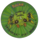 Flippos > Pokemon > 01-25 20-Spinarak-#197-Mimigal.