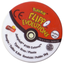 Flippos > Pokemon > 26-45 Evolution 27-Jumpluff-#189-Cotovol-(back).
