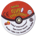 Flippos > Pokemon > 26-45 Evolution 32-Ledian-#166-Coxyclaque-(back).