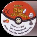 Flippos > Pokemon > 26-45 Evolution 39-Cleffa-#173-Melo-(back).
