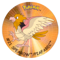 Flippos > Surprise Pokemon 021-Spearow-Piafabec.