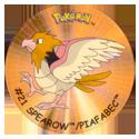 Flippos > Surprise Pokemon 021-Spearow-Piafabec.