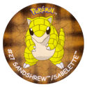 Flippos > Surprise Pokemon 027-Sandshrew-Sabelette.