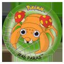 Flippos > Surprise Pokemon 046-Paras.