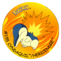 Flippos > Surprise Pokemon 155-Cyndaquil-Hericendre.