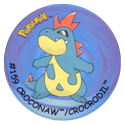 Flippos > Surprise Pokemon 159-Croconaw-Crocrodil.