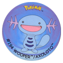 Flippos > Surprise Pokemon 194-Wooper-Axoloto.