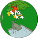 Fun Caps > 091-120 Donald I 118-Donald-stuck-in-tree-when-diving-into-swimming-pool.