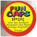 Fun Caps > 181-210 Donald IV Back.