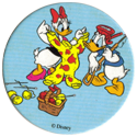 Fun Caps > 271-300 Donald V 281-Daisy-and-Donald-Duck-at-the-seaside.