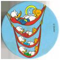 Fun Caps > 271-300 Donald V 294-Donald-Duck,-Huey,-Dewey,-and-Louie-on-hammocks.