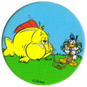Fun Caps > 271-300 Donald V 298-Donald-Duck-pumping-up-a-fish.