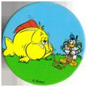 Fun Caps > 271-300 Donald V 298-Donald-Duck-pumping-up-a-fish.