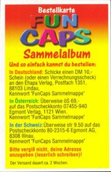 Fun Caps > Checklists & packets Bestellkarte-Fun-Caps-Sammelalbum-(front).