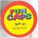 Fun Caps > Disney Superstars aus Entenhausen 41-80 Back.