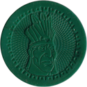 Fun Caps > Slammers > Pocahontas green-Chief-Powhatan.