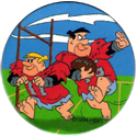 Hanna-Barbera > Flintstones 35-Barney-&-Fred-playing-football.