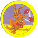 Hoppies > 251-280 Yellow 259-Boxing-kangaroo.
