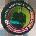 Slammer Whammers > Official Universal Studios Monsters 81-Frankenstein.