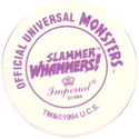 Slammer Whammers > Official Universal Studios Monsters Back.