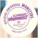Slammer Whammers > Official Universal Studios Monsters Back.