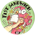 Slammer Whammers > Series 1 > 25-48 Wise Guys 37-Fist-Sandwich.