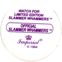 Slammer Whammers > Series 2 > 169-192 More Wild Things Slammer-Whammers-Back.