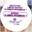 Slammer Whammers > Series 2 > 169-192 More Wild Things Slammer-Whammers-Back.