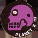 Slammer Whammers > Series 2 > 193-216 Alien Dudes 205-Planet-X---Skull.