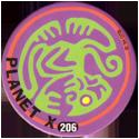 Slammer Whammers > Series 2 > 193-216 Alien Dudes 206-Planet-X---Green-Monkey.