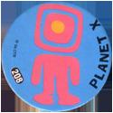 Slammer Whammers > Series 2 > 193-216 Alien Dudes 208-Planet-X---Spaceman.