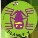 Slammer Whammers > Series 2 > 193-216 Alien Dudes 209-Planet-X---Frog.