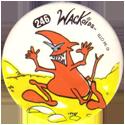 Slammer Whammers > Series 2 > 241-264 Rad Caps 246-Wackoid.