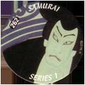 Slammer Whammers > Series 2 > 241-264 Rad Caps 262-Samurai-Face.
