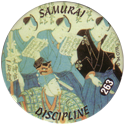 Slammer Whammers > Series 2 > 241-264 Rad Caps 263-Samurai-Discipline.