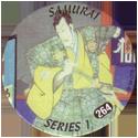 Slammer Whammers > Series 2 > 241-264 Rad Caps 264-Samurai-Guy.