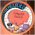 Slammer Whammers > Series 3 > Cyberdudes 14-Computer-Genius.