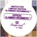 Slammer Whammers > Series 3 > Kamikaze Fliers Back.