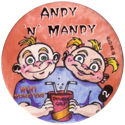 Slammer Whammers > Series 3 > Mini Monsters 02-Andy-'N'-Mandy.