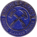 Slammer Whammers > Slammers > Slammer Jammers (unnumbered) Hammer-Slammer-Blue-(Silver-Front).