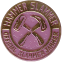 Slammer Whammers > Slammers > Slammer Jammers (unnumbered) Hammer-Slammer-Pink-(Gold-Front).