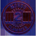 Slammer Whammers > Slammers > Slammer Whammers (numbered) 18-Mondo-2-Ton-(Dark-Blue-with-Red-front).
