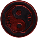 Slammer Whammers > Slammers > Slammer Whammers (numbered) 28-Yin-Yang-(Black-with-Red-front).