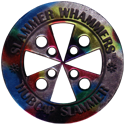 Slammer Whammers > Slammers > Slammer Whammers (unnumbered) Hubcap-Slammer-(Black-with-multicoloured-front).
