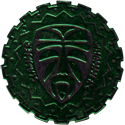 Slammer Whammers > Slammers > Slammer Whammers (unnumbered) Mask-(Black-with-Green-front).