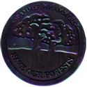Slammer Whammers > Slammers > Slammer Whammers (unnumbered) Save-Our-Forests-(Black-with-Green-and-Purple-front).