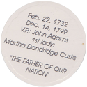 Island Bottlecap Company > U.S. Presidents 01-George-Washington-(back).