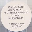 Island Bottlecap Company > U.S. Presidents 02-John-Adams-(back).