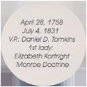 Island Bottlecap Company > U.S. Presidents 05-James-Monroe-(back).