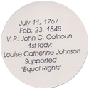 Island Bottlecap Company > U.S. Presidents 06-John-Quincy-Adams-(back).